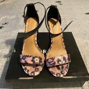 Torrid ankle strap tapered heel